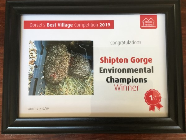 Enviromental Champions winner picture 2019